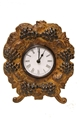 DECORATIVE GRAPES CLOCK