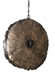 FOSSIL PETAL HANGING LIGHT-SMALL
