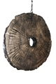FOSSIL PETAL HANGING LIGHT-LARGE