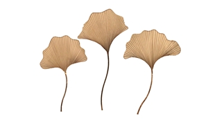 SET OF 3 SHROOM WALL DECOR