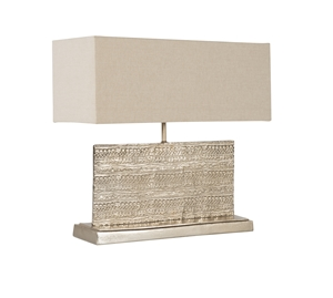 TAPESTRY TABLE LAMP