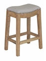 DARLINGTON COUNTER STOOL - LINEN