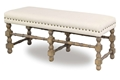 St. Kitts Linen Bench