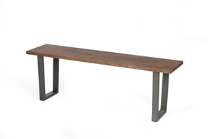 Williston Industrial Dining Bench