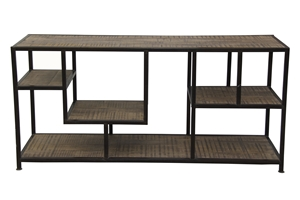 ATKINS MULTI-SHELF CONSOLE