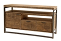 ATKINS ENTERTAINMENT CONSOLE