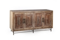 Weathered 4-Door Sideboard