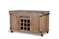 Farmhouse Double Sided Kitchen Island