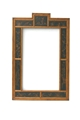 BLACK CHINOSERIE MIRROR