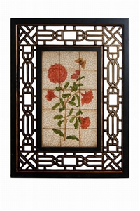 FLORAL WALL PANEL