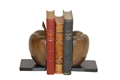 WOOD & IRON BOOK ENDS