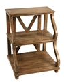 3 SHELF WOODEN TABLE - NATURAL