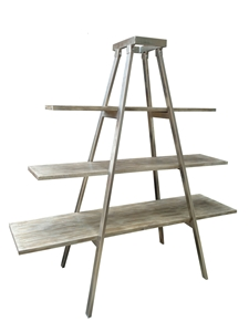ARCHITECTURAL 3-SHELF STAND