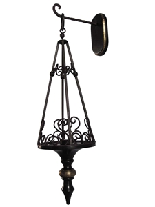 ROUND TAPERED HANGING LANTERN