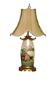 PAGODA FLAT TABLE LAMP
