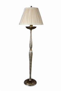 FLUTED COLUMN FLOOR LAMP