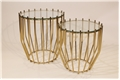 Gold Monarch Nesting Tables