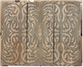 PAISLEY ETCHED PANEL TRIO