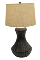 TEXTURED BELLY TABLE LAMP