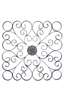 IRON SQUARE WALL HANGING