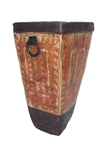 TRIBAL TERRA COTTA VASE - MEDIUM
