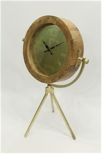 TRIPOD CLOCK - LARGE