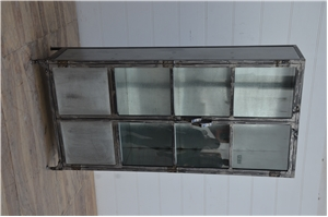 Millbank Farms Iron Display Cabinet