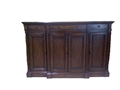 SIDEBOARD BUFFET CONSOLE CABINET - WORN PECAN