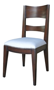 ANTIGUA SIDE CHAIR - LINEN SEAT