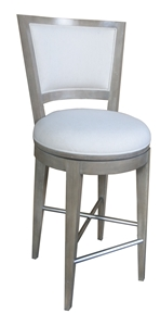 Willoughby Bay Bar Chair - Linen Seat
