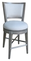 Willoughby Bay Counter Chair - Linen Seat
