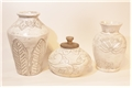 St. Kitts Earthenware Trio