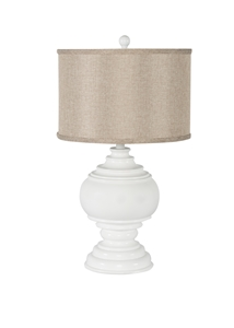 WHITE PAWN TABLE LAMP