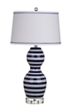 Breton Navy Striped Table Lamp