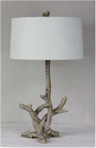 Driftwood Table Lamp - Natural