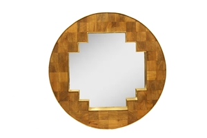 PARQUET BLOCK PANEL-BRASS GILD