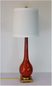 SPROUTING BULB LAMP-ORANGE