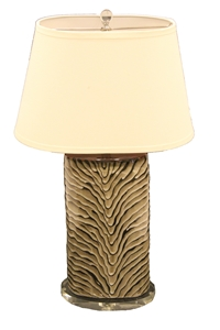 SAFARI CERAMIC LAMP