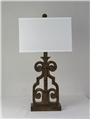 MUMBAI TABLE LAMP-BURNISHED GOLD