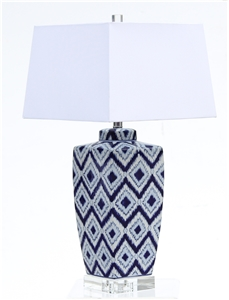 BLUE DIAMOND EYE TABLE LAMP