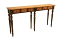 SIX DRAWER CONSOLE TABLE