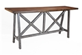 TABLE BOARD TRESTLE CONSOLE - RUSTIC GREY