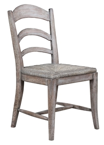 PASTORAL SIDE CHAIR-RUSTIC GREY