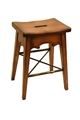 LODGE COUNTER STOOL - BROWN
