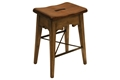 LODGE COUNTER STOOL-RUSTIC GREY