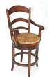 PASTORAL COUNTER STOOL SWIVEL - ARMS