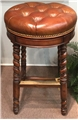 Randolph Counter Stool - Whiskey (swivel)
