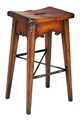 LODGE BAR STOOL - BROWN