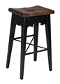 LODGE BAR STOOL - BLACK