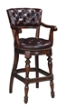 HAMPDEN BAR CHAIR-CIGAR (SWIVEL, ARMS)
